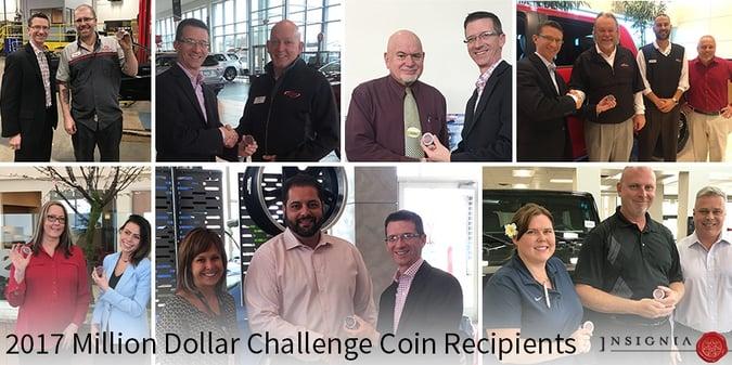 Challenge Coin Recipients