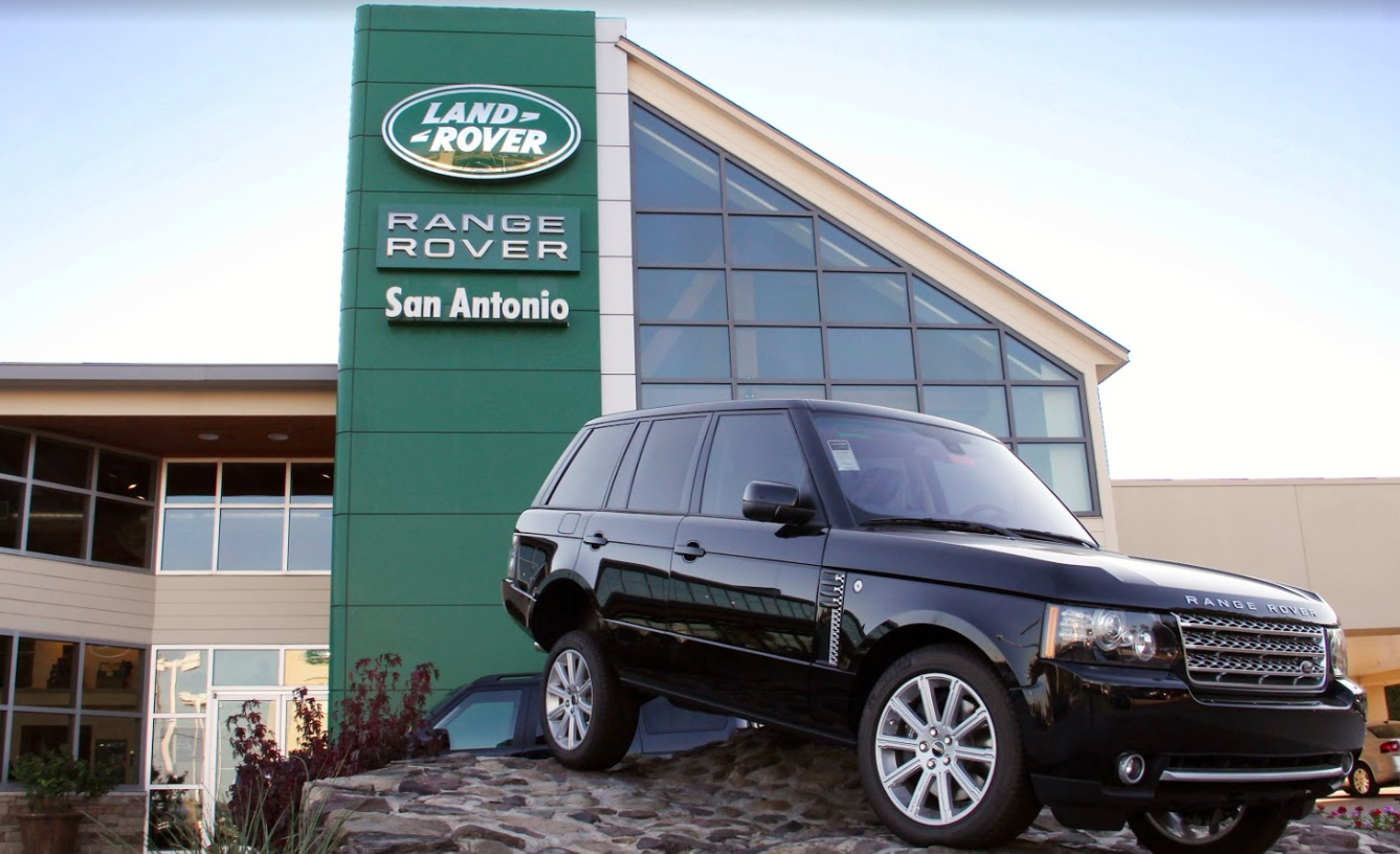 JLR san antonio retailer outside