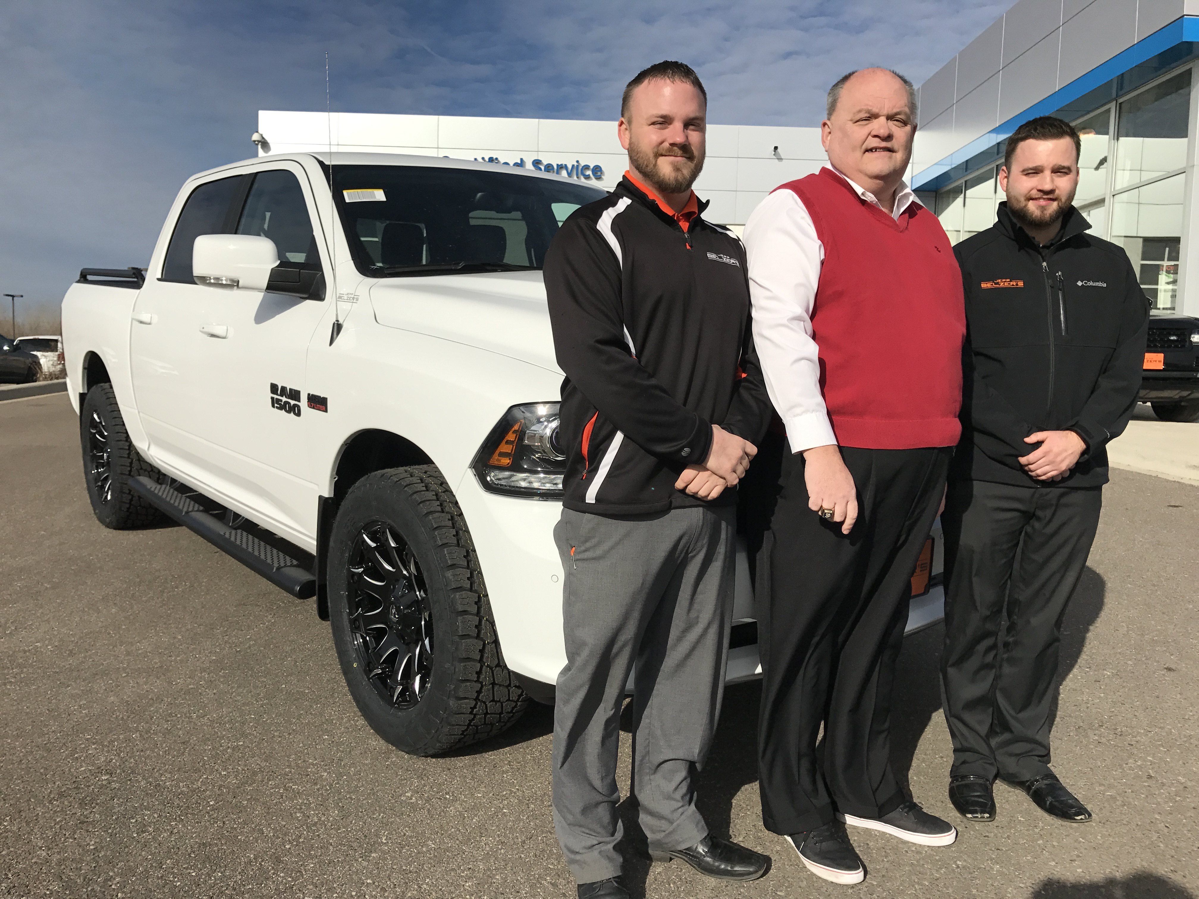 Jeff Belzer Team: Cole Hawkins and Creed Medvec with Insignia VPE Kurt Daughtery