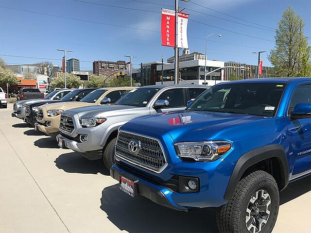Mark Miller Toyota car lot