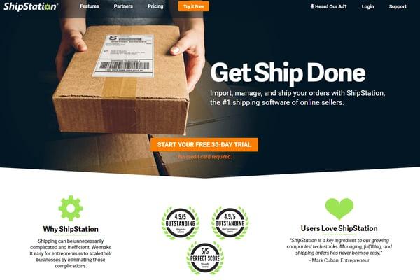 ship station website