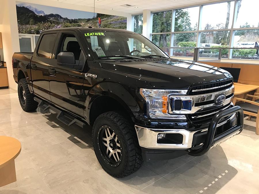 An accessorized truck